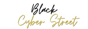 Black Cyber Street Logo